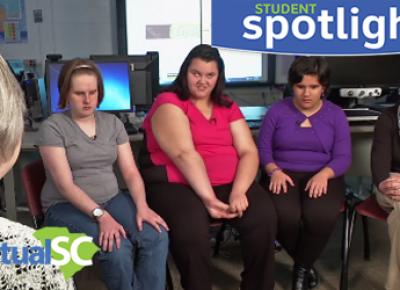 Student Spotlight - Alexis, Allyssa, Katie & Pinar